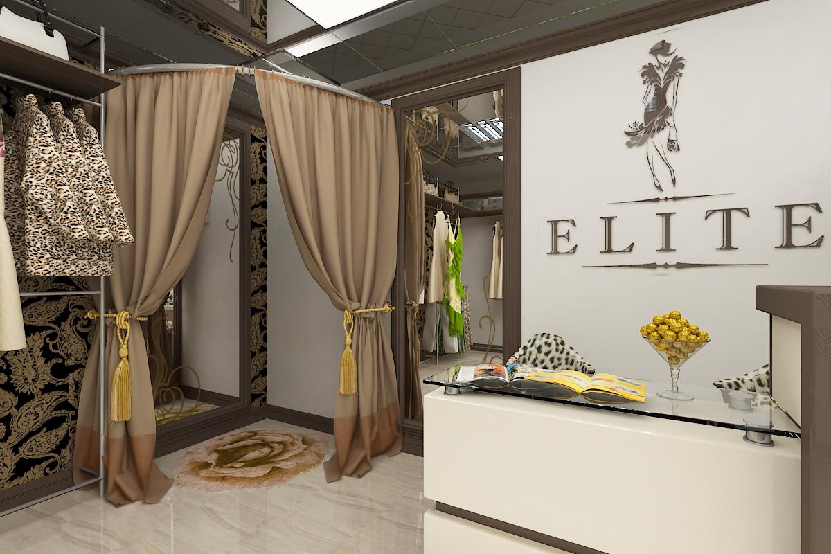 Интерьер магазина женской одежды с доставкой